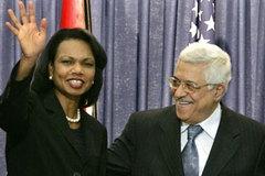 Rice'dan Mahmud Abbas'a destek