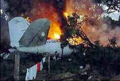 ABD'de uçak düştü: 5 ölü