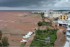 Güneydoğu'da 'tsunami' manzaraları