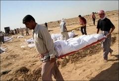Irak'ta 655 bin sivil öldü