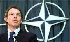 Blair: NATO'nun inanılırlığı tehlikede