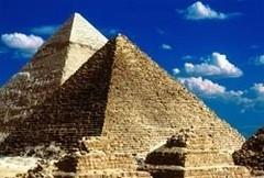 Piramitlerin taşları sentetikmiş
