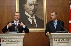 Blair'den Türkiye'ye tam destek