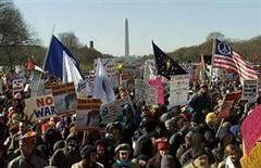 ABD'de savaş karşıtı büyük gösteri