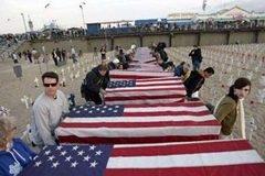 Irak'ta 3 bin ABD askeri öldü