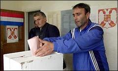 Sırbistan'da Demokratlar önde