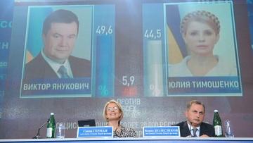 Ukrayna'da Turuncu Devrimi Yanukoviç bitirdi!
