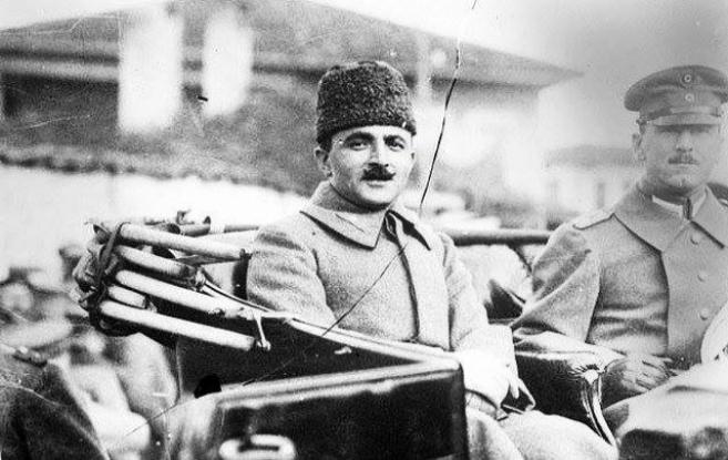 Enver Paşa'nın Alman basınına verdiği röportaj
