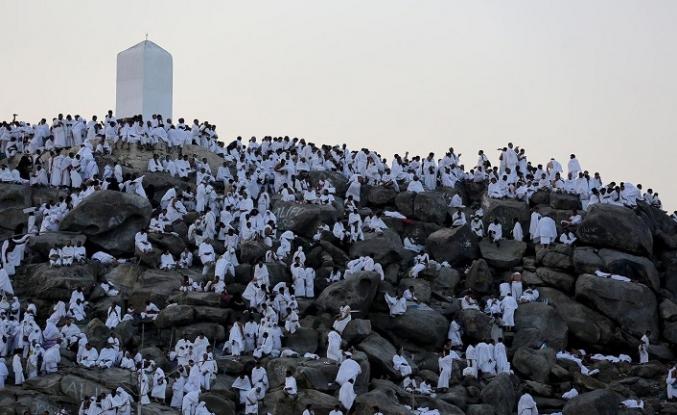 Hacı Adayları Arafat'ta toplandılar
