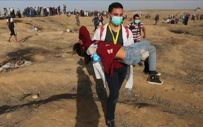 İşgal güçleri 37 Filistinli çocuğu katletti