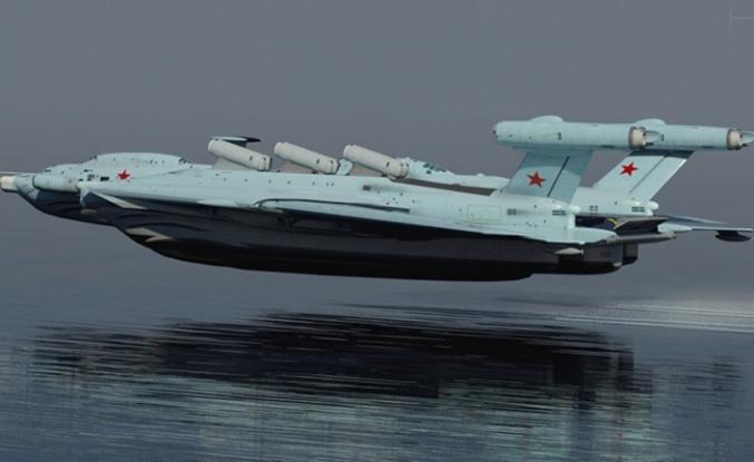 Ruslar füzeli 'ekranoplan' geliştirmek için kolları sıvadı