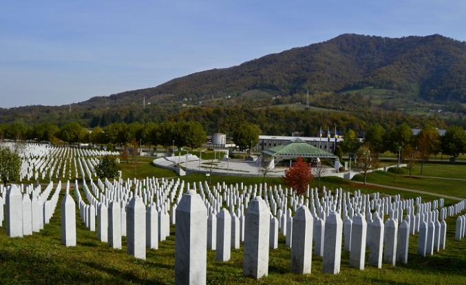 Srebrenitsa'da sonbahar hüznü