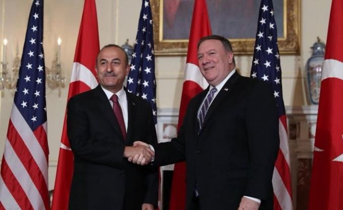 Çavuşoğlu'ndan ABD açıklaması