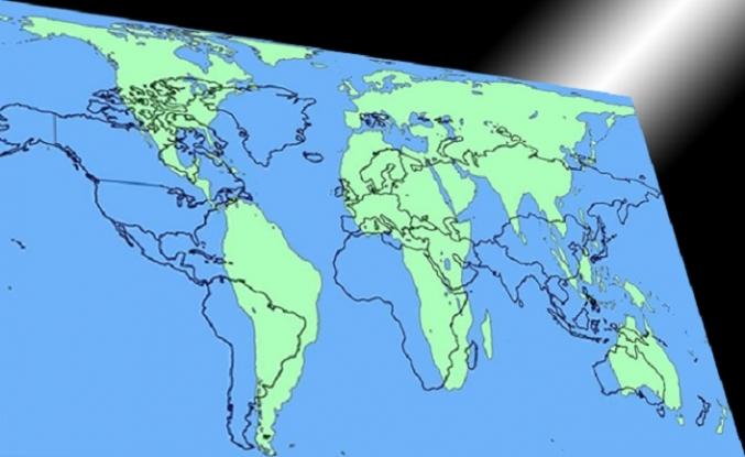 En eski propaganda aracı: Dünya haritası