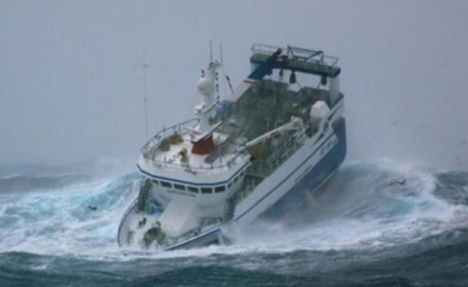 Denizde fırtına uyarısı