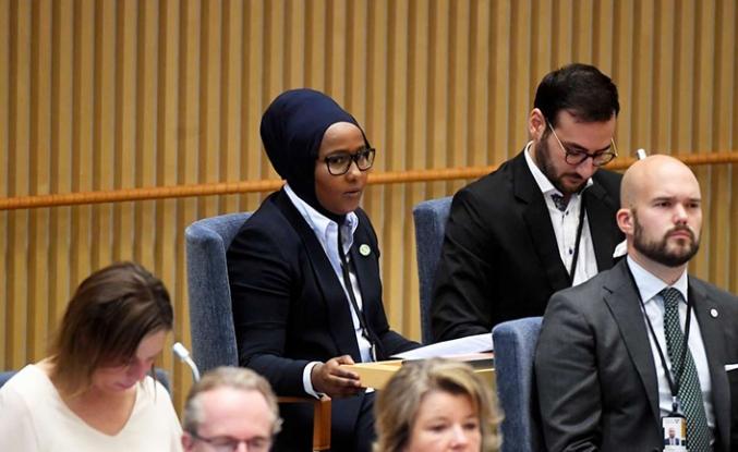 İsveç'te göçmenlerin sesi Somalili Leyla