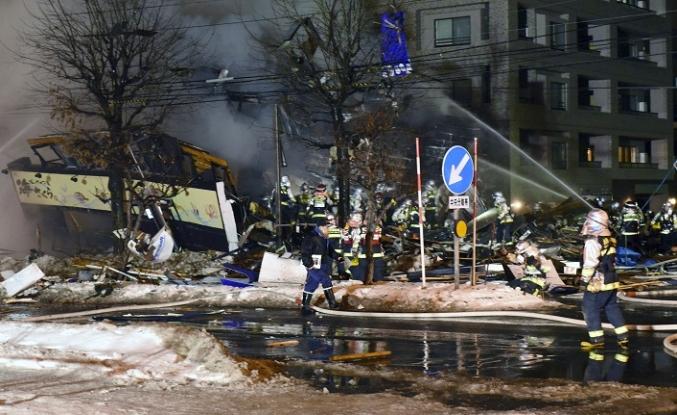 Japonya'da patlama, 41 yaralı