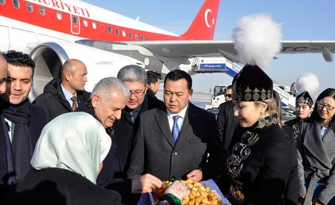TBMM Başkanı Yıldırım Kırgızistan'da