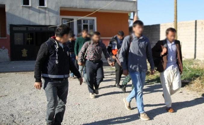 Van'da göçmenler yakalandı