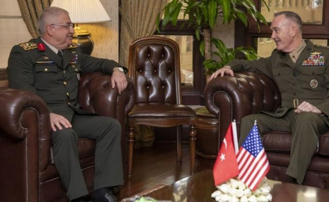 Genelkurmay Başkanı Güler'in ABD'li mevkidaşı ile görüşmesi başladı