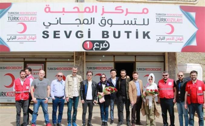 Kızılay Irak'ta Şefkat Butik açtı