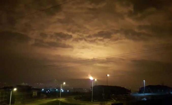 Sakarya'da doğal gaz patlaması