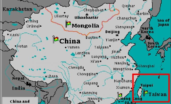 Tayvan yüzünden 30 bin harita yokedildi