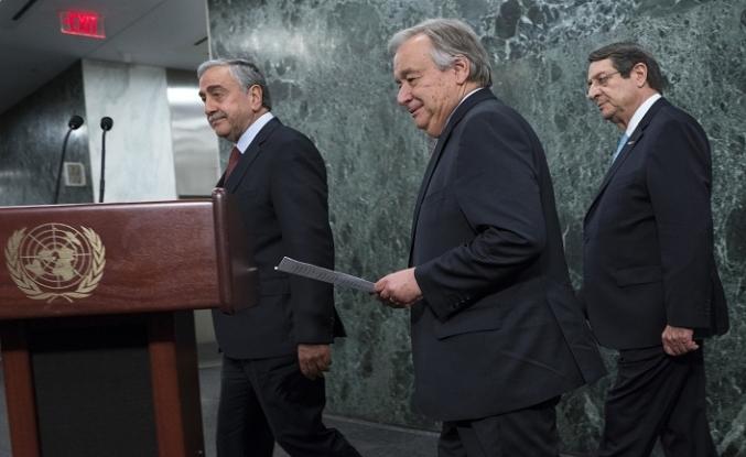BM Genel Sekreteri Guterres Kıbrıs raporunu sundu