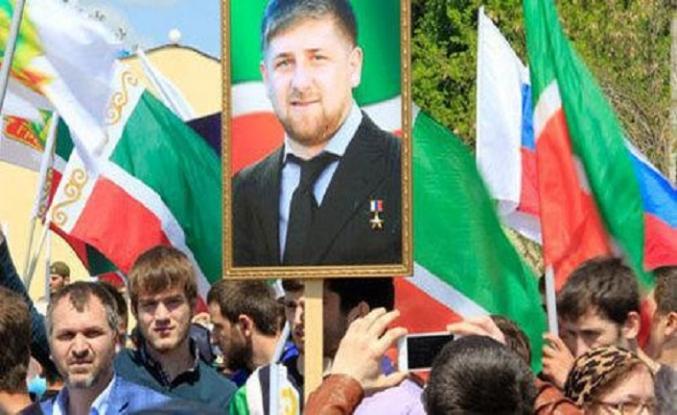Çeçenistan'da zorla 1 Mayıs etkinliği