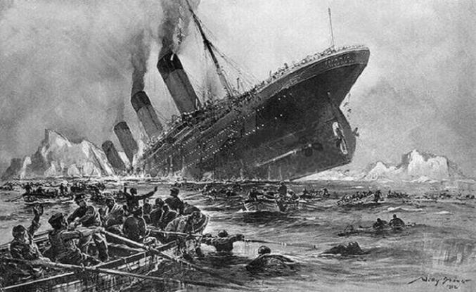 TARİHTE BUGÜN: Titanic battı