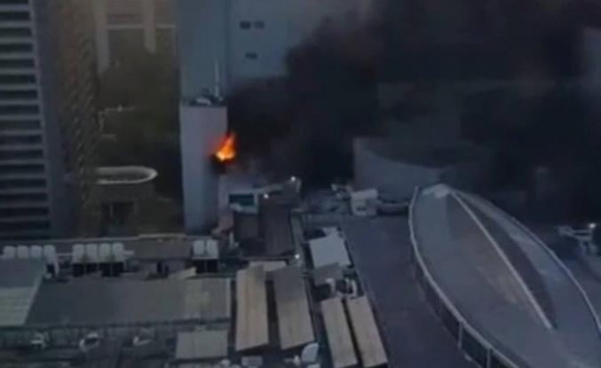 Tayland'da alışveriş merkezinde yangın