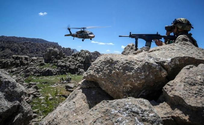 Irak'ın kuzeyine hava harekatı, hedefler imha edildi