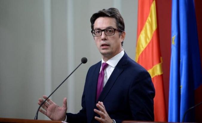 Kuzey Makedonya Cumhurbaşkanı görevine başladı