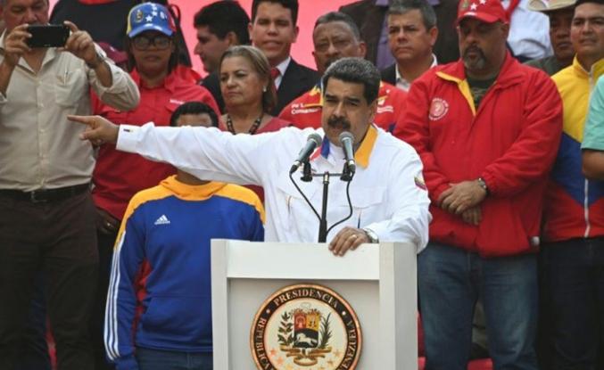 Venezuela'da Maduro'dan muhalif Ulusal Meclis için seçim teklifi
