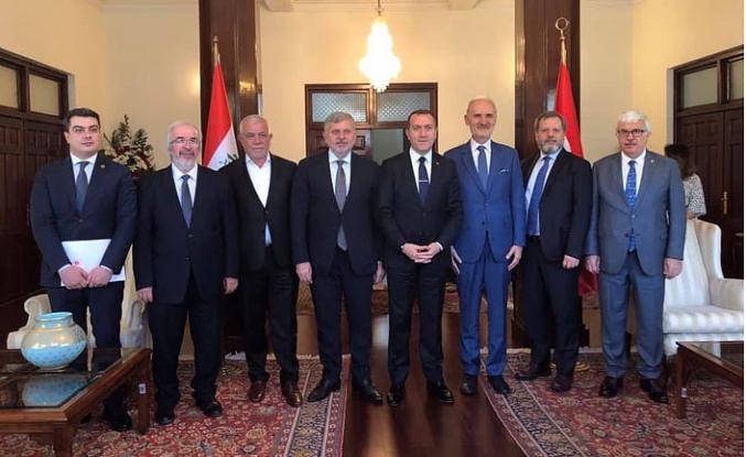 İTO heyetinin Bağdat ve Amman seyahati