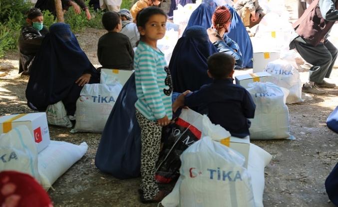 TİKA Afganistan'da yardım dağıttı
