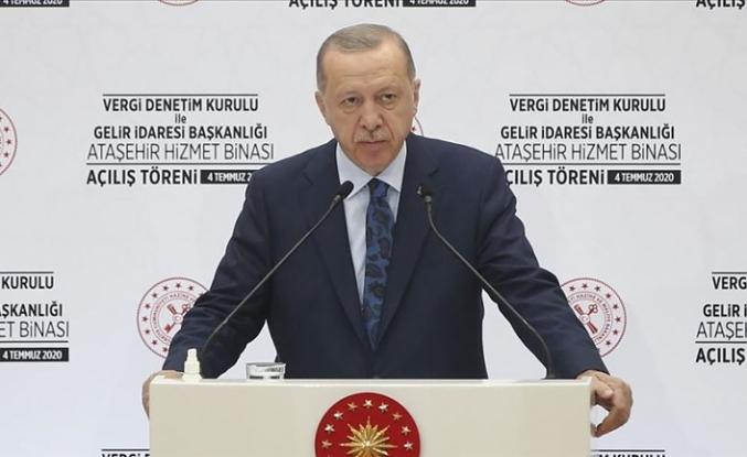 Cumhurbaşkanı Erdoğan: Ülkemiz yakın tarihinde görülmedik ölçüde güçlü bir bölgesel aktör haline geldi