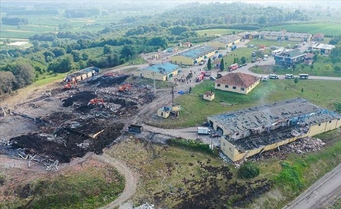 Sakarya'da havai fişek fabrikasındaki patlamaya ilişkin 3 gözaltı kararı