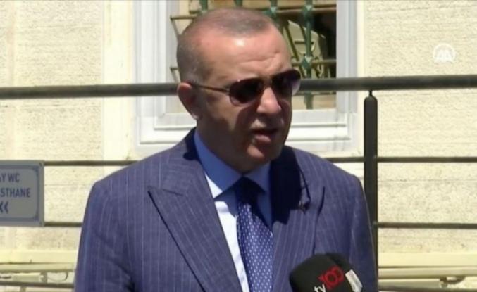 Cumhurbaşkanı Erdoğan: O ülkeyle ilişkilerimizi askıya alabiliriz!