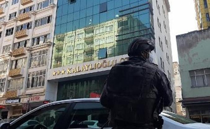 Kahramanmaraş'ta polis yaralayan zanlı yakalandı