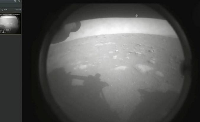 NASA aracı Mars'a başarılı bir şekilde iniş yaptı
