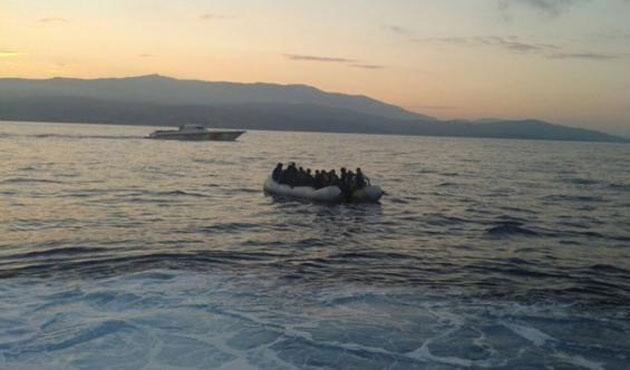 Ege'de 105 kaçak göçmen kurtarıldı