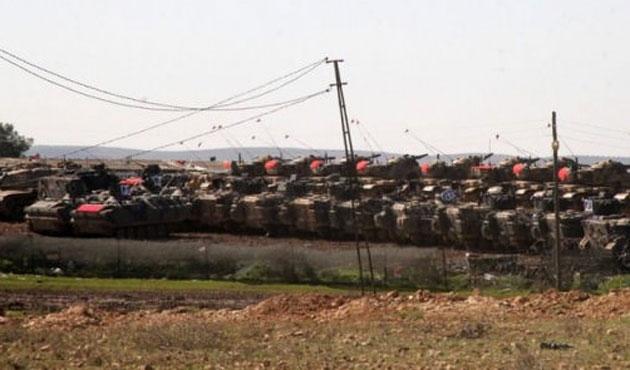 Suriye sınırına yeni tank sevkiyatı