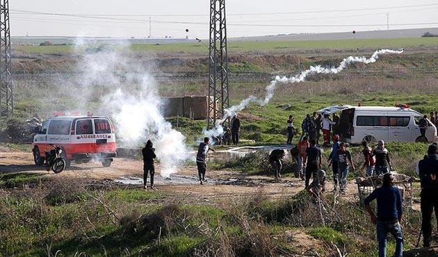 Gazze sınırında gerginlik: 9 yaralı