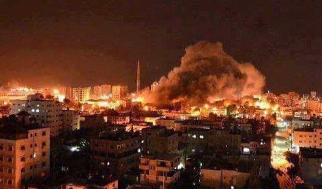 İsrail ordusu Gazze'de 3 noktayı vurdu