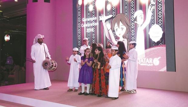 Katar'da Ramazan'a özel çocuk bayramı kutlandı