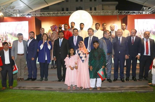 9. Uluslararası Ramazan Etkinlikleri'ne Azerbaycan ve Bangladeş'ten ziyaret