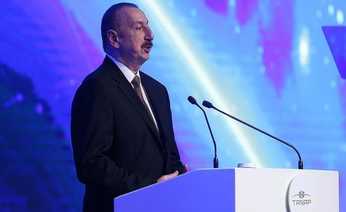Aliyev: TANAP, Türkiye ve Azerbaycan'ın zaferidir