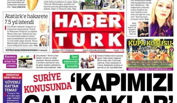 Habertürk gazetesinin kapatılacağı iddiası doğrulandı