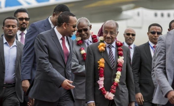 Eritre 20 yıl sonra Etiyopya'daki büyükelçiliğini açtı